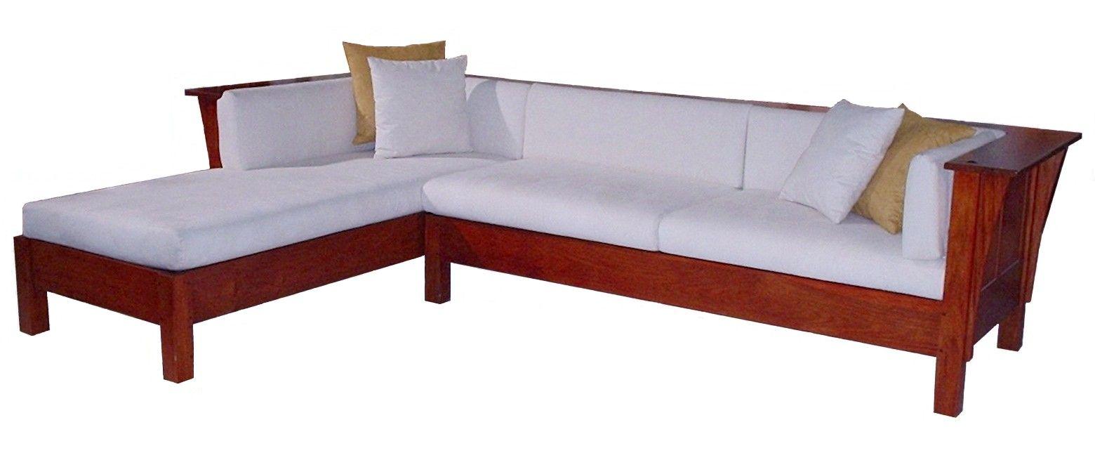L Shape Sofa In Loose Seat And Back Cushions Sofa L Shaped Sofa Cushions