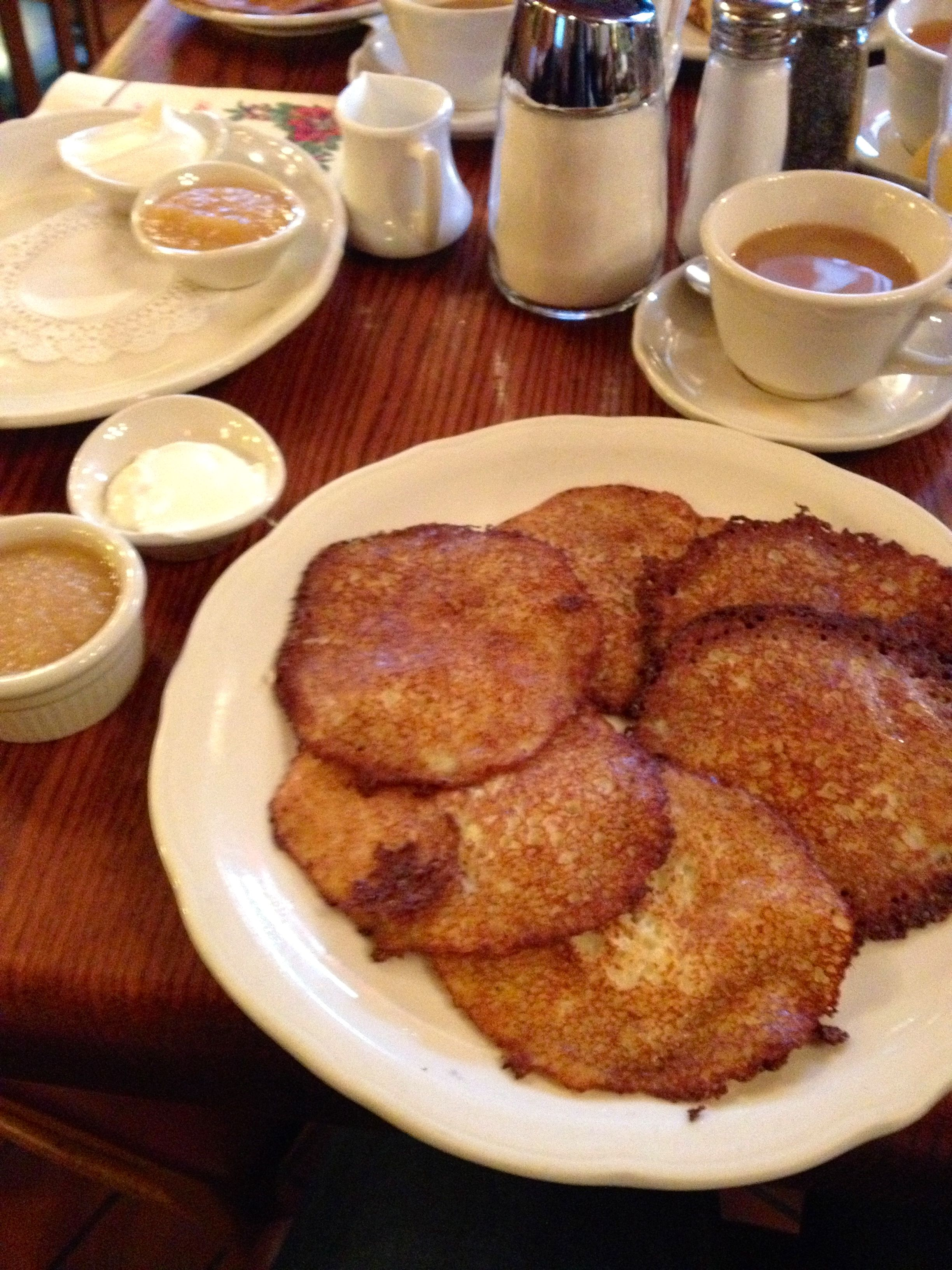 Potato Pancakes at The Original Pancake House A Month of Dining