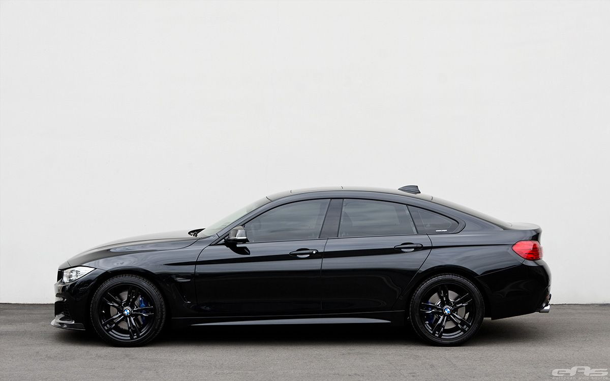 Black Sapphire 428i Gran Coupe With M Performance Parts Gran