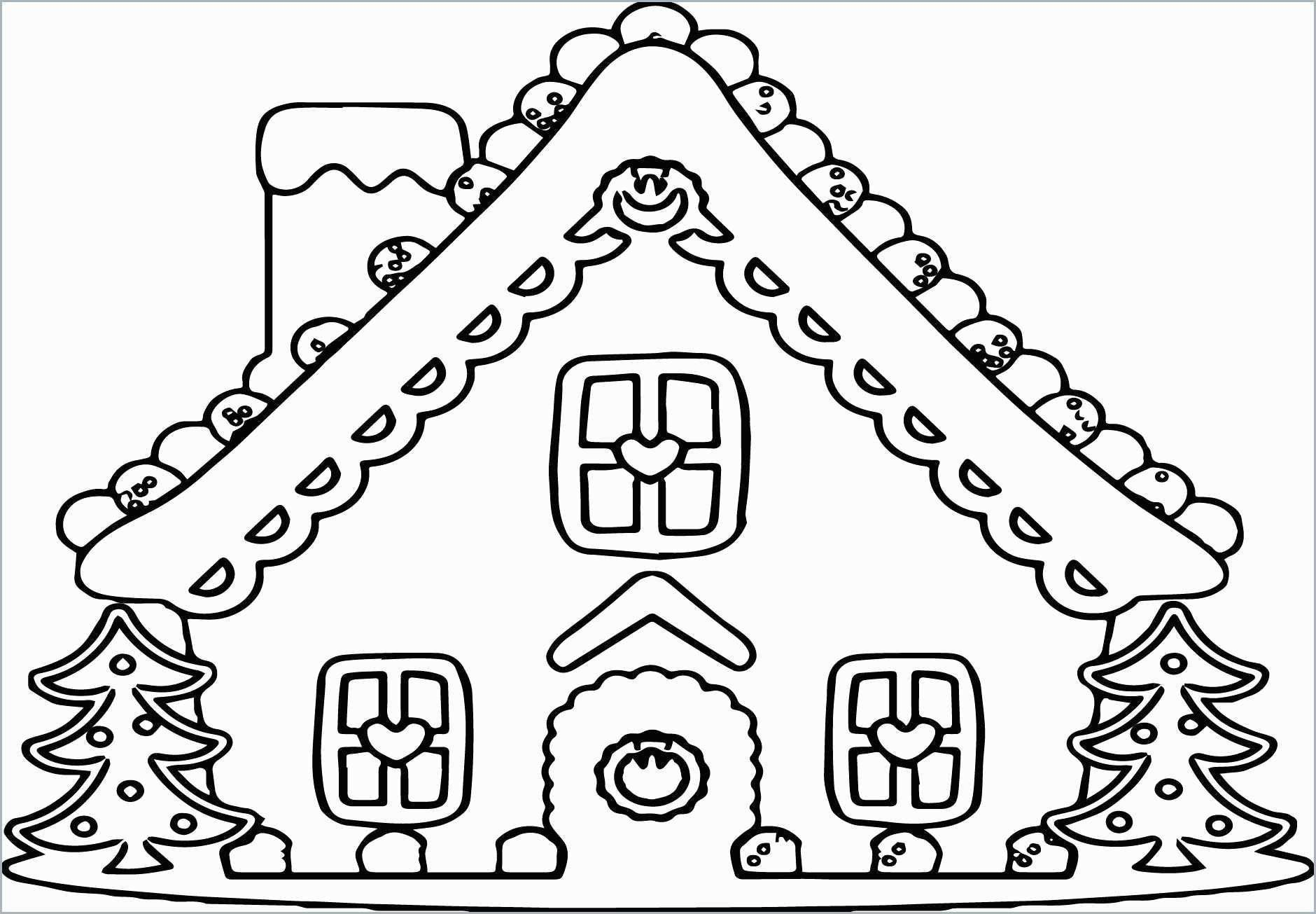 Gingerbread House Coloring Page Unique Gingerbread House Coloring Pages In 2020 Candy Coloring Pages House Colouring Pages Snowman Coloring Pages