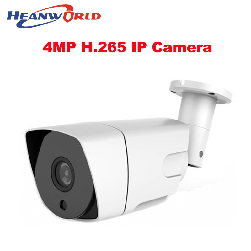 59.99$  Watch now - http://alico6.worldwells.pw/go.php?t=32731467340 - Outdoor waterproof IP camera H.265 HD 4MP beautiful cctv surveillance camera video network camera onvif webcam for day/night use