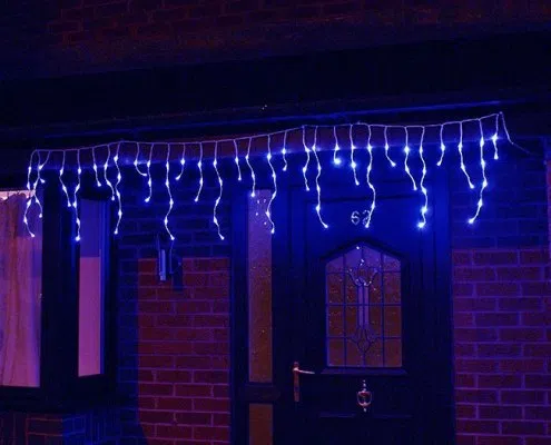 Christmas Outdoor Blue Icicle Lights Wholesale In 2020 Icicle Lights Led Icicle Lights Outdoor Christmas