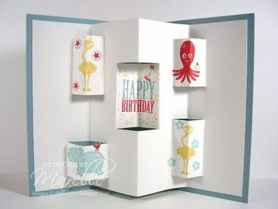 Marelle Taylor Stampin' Up! Demonstrator Sydney Australia: Pop-up Cards