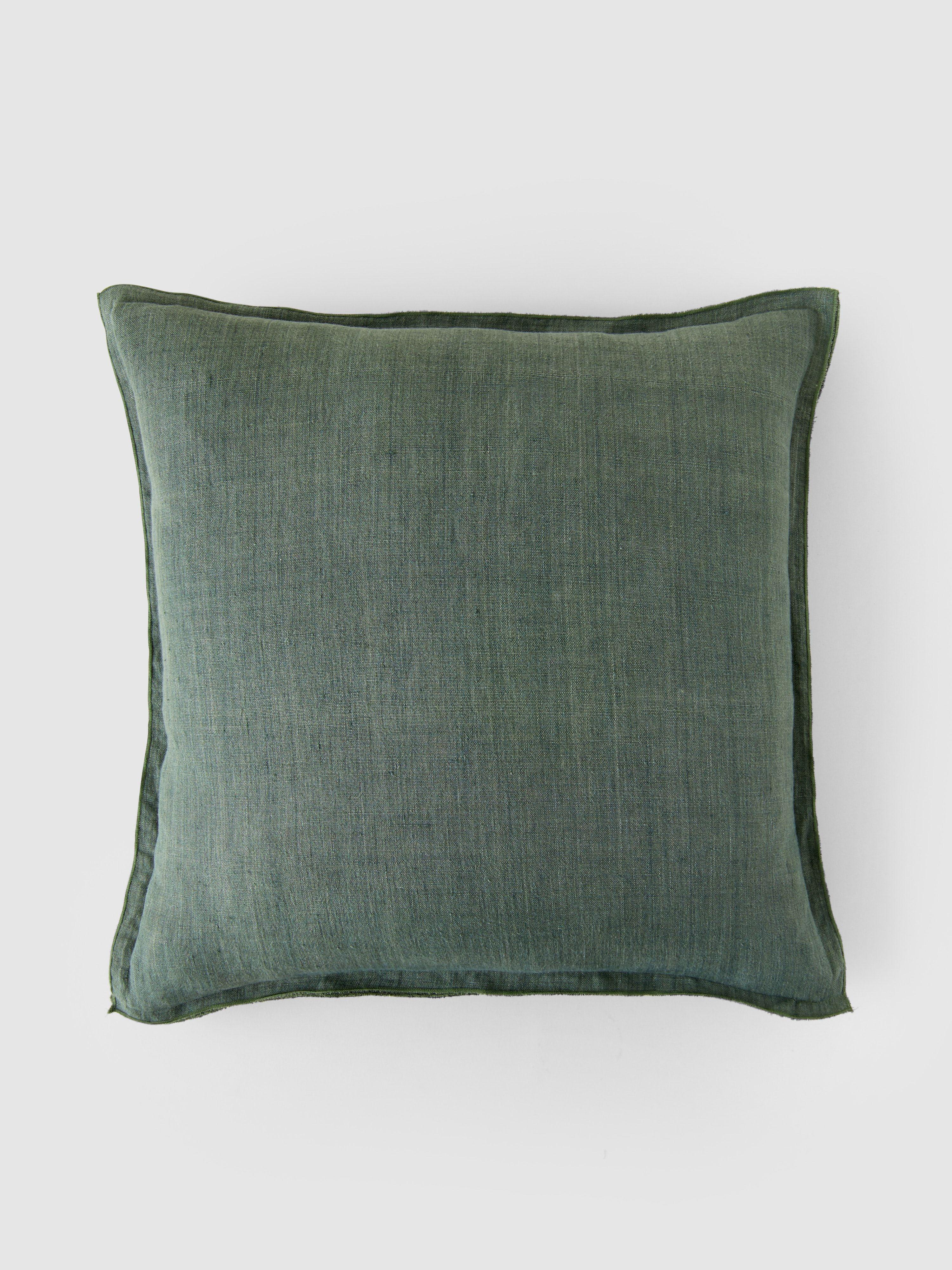 Bungalow Denmark Linen Thyme Cushion Cover Stylish Throw Pillows Cushion Cover Unique Decorative Pillows