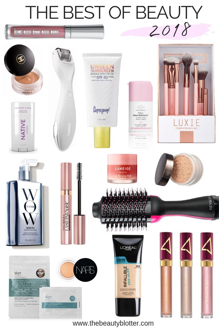 My Top 16 Best Beauty Products of 2018 | The Beauty Blotter #beautyproducts