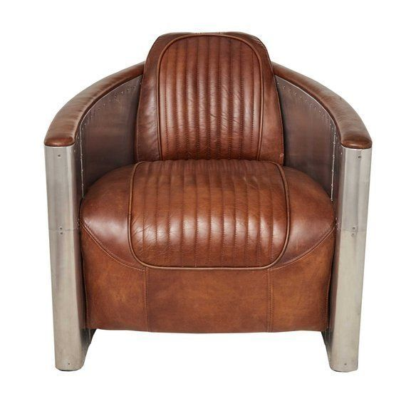 Fantastic Timothy Oulton Aviator Tomcat Armchair Vintage Brown Onthecornerstone Fun Painted Chair Ideas Images Onthecornerstoneorg