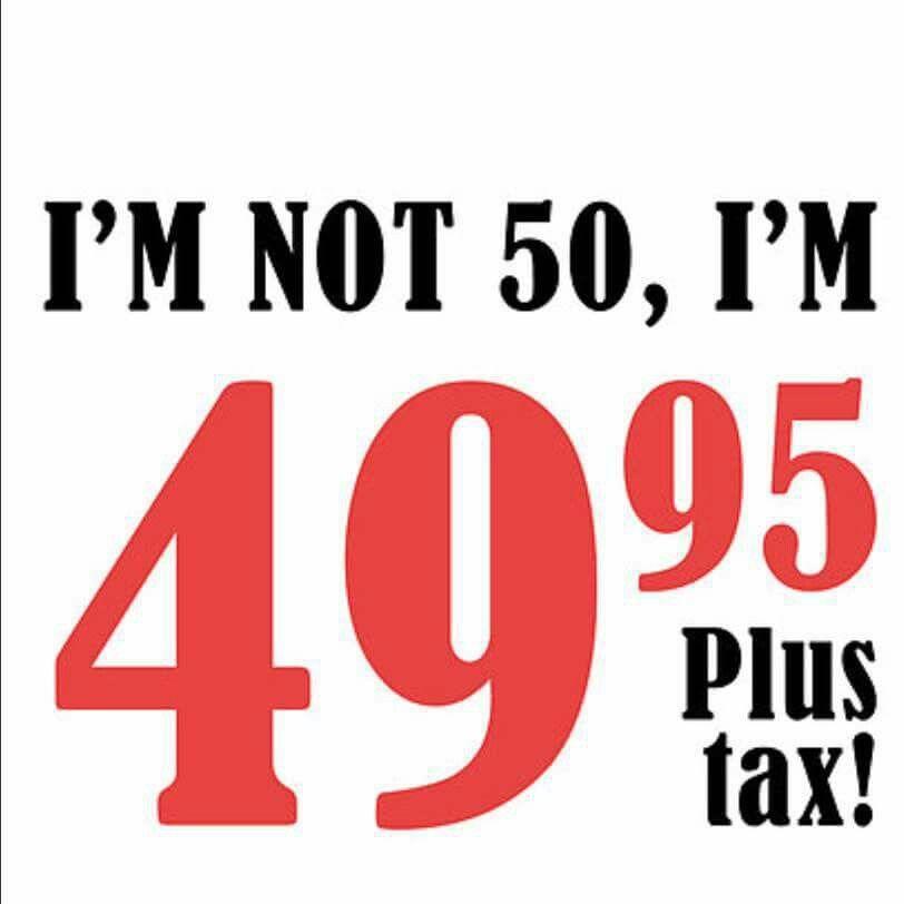 I'm not 50 Verjaardagskaarten