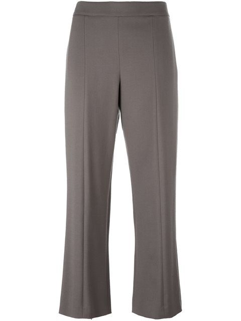 Discount View cropped trousers - White Giorgio Armani 2018 Sale Online Outlet Shop Cheap Low Shipping Free Shipping Browse FJmpFA