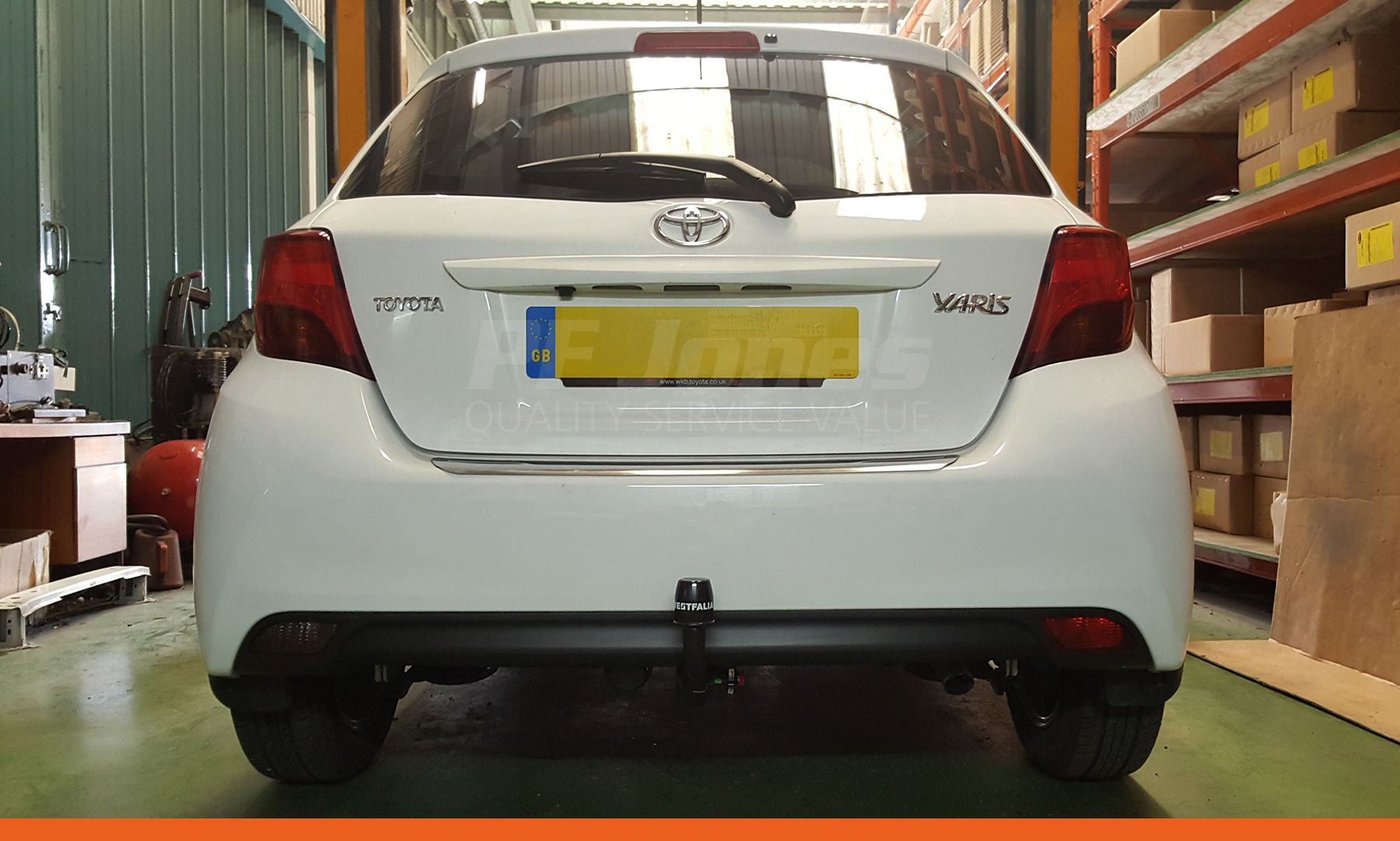 Witter Detachable Swan Neck Towbar For Ford Mondeo Hatchback 2007-2015