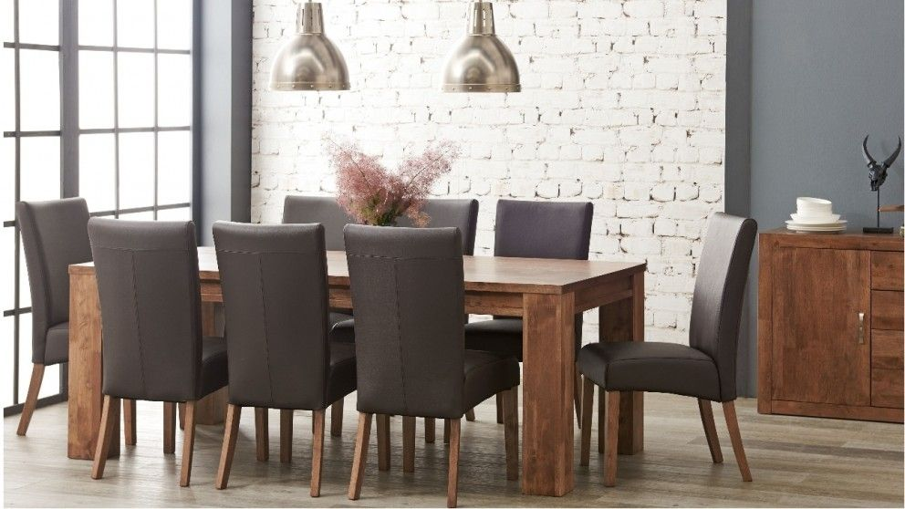 Jasper 9 Piece Dining Suite Dining Suites Dining Room Suites Rectangular Dining Set