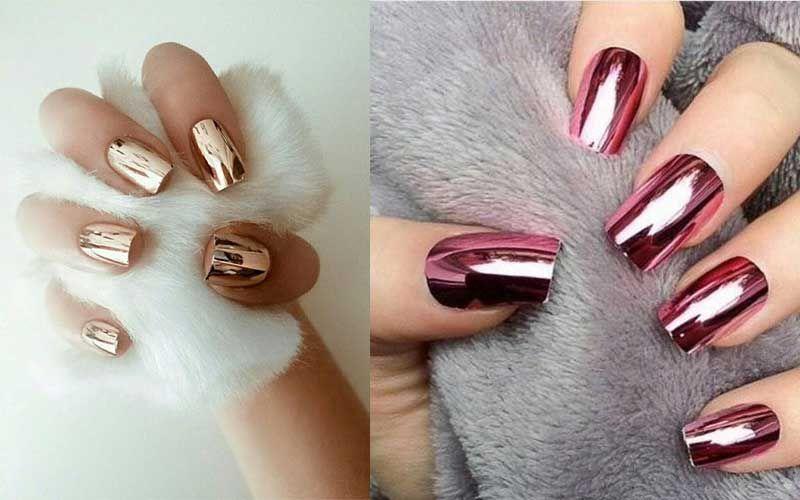 Resultado de imagen para diseños de uñas espejo | uñas | Pinterest ...
