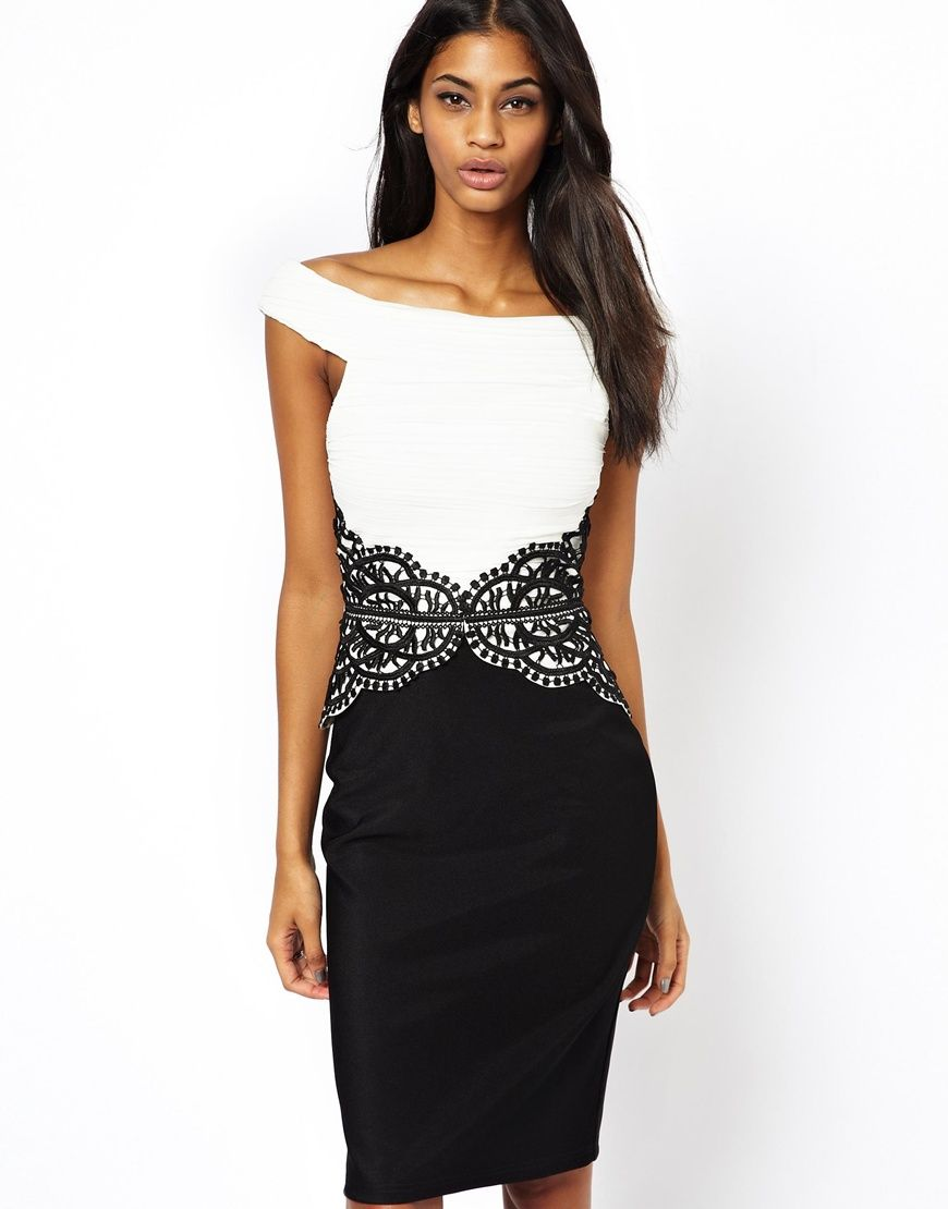 Lipsy dress with lace trim waist fashion pinterest lace lace