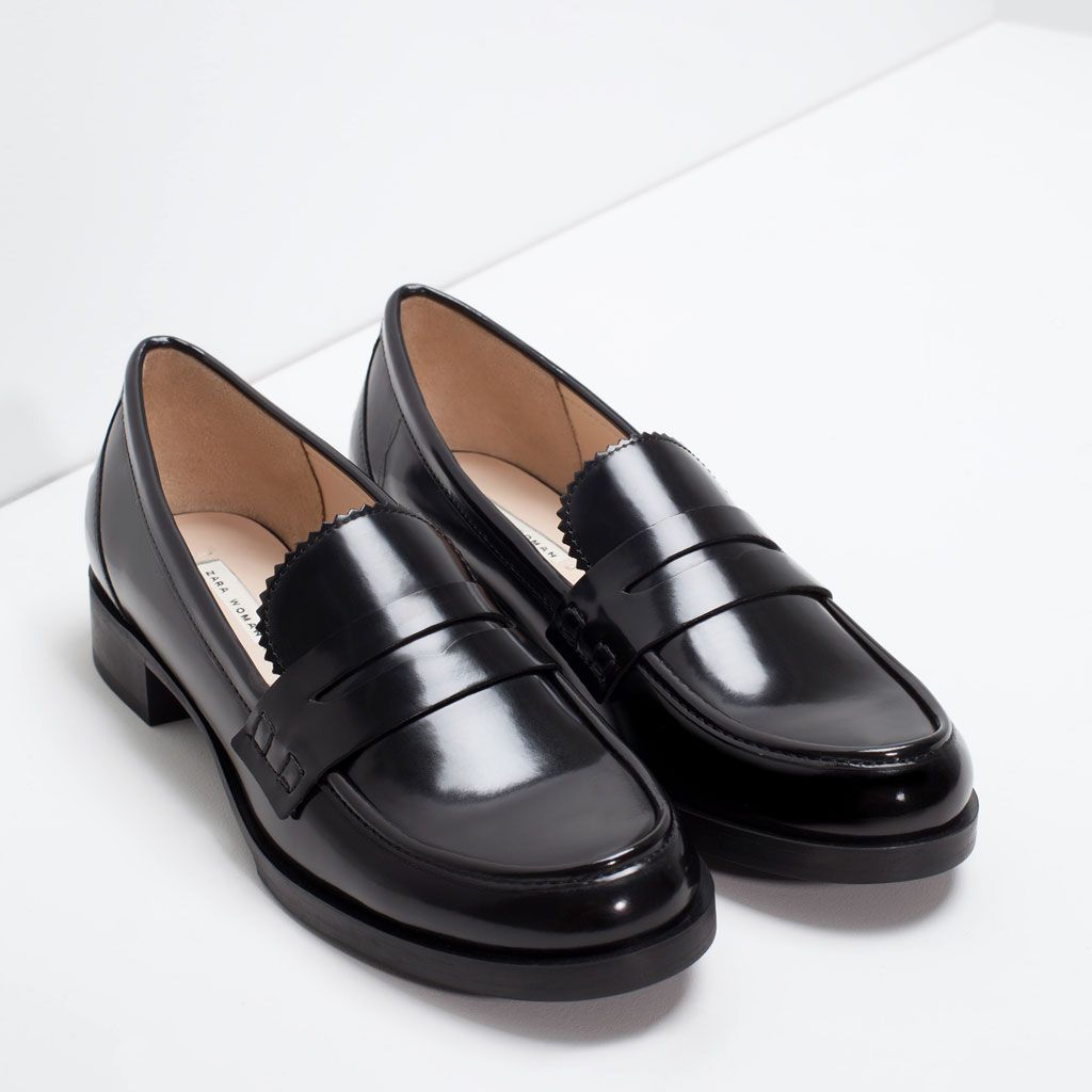 Zara Mujer MocasÍn Antifaz Zara Schuhe Schuhe Frauen Schuhe Damen