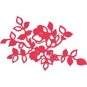 Silhouette Design Store - View Design #33670: flowers leaves flourish decoration