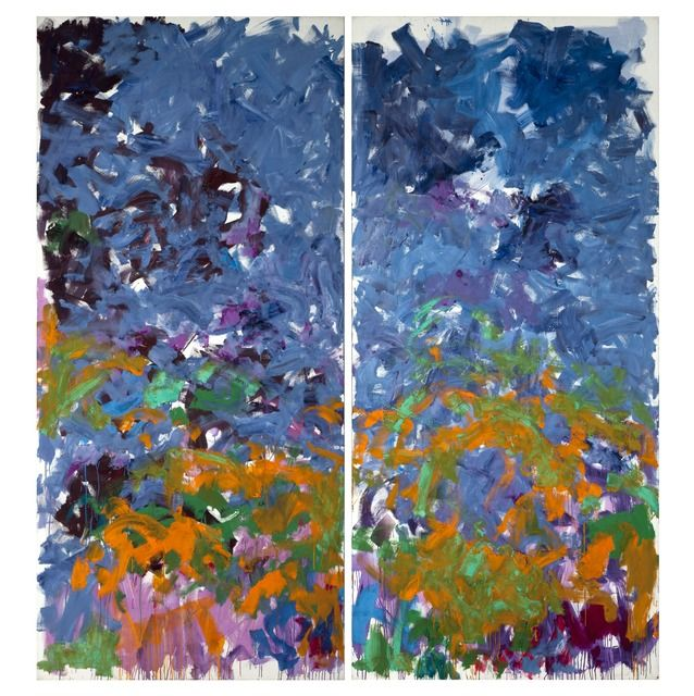 Joan Mitchell La Grande Vallee Xviii Luc 1983 1984 Available For Sale Artsy Joan Mitchell Abstract Artists Artwork