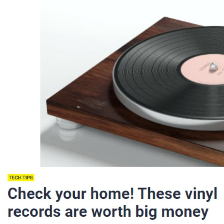 These Vinyl Records Are Worth Big Money In 2020 Vinyl Records Big Money Vinyl