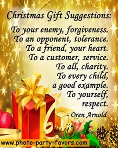 Christmas gift suggestions we can all use to give... | Quotes ...