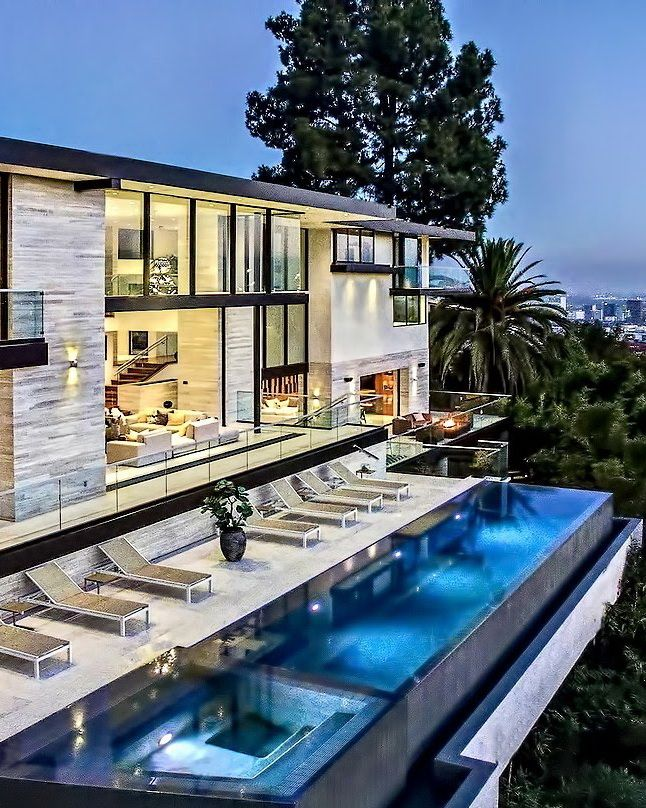 Stunning West Hollywood Hills Modern Contemporary Luxury Residence - Los Angeles, CA