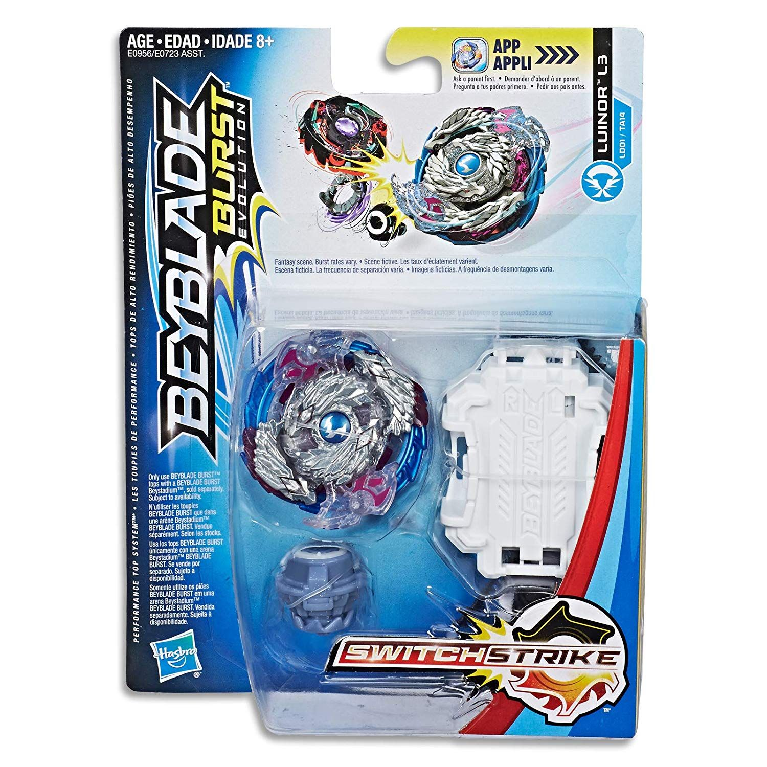 Compatible with Righ BEYBLADE Burst Turbo Slingshock Precision Strike Launcher