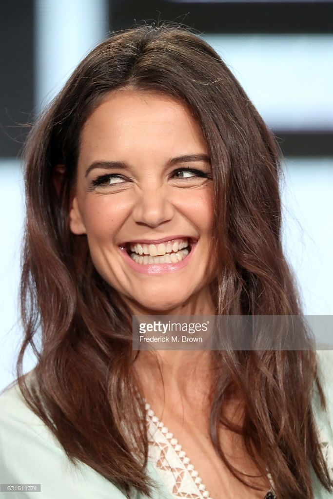 Actress Katie Holmes Of The Television Show The Kennedys After