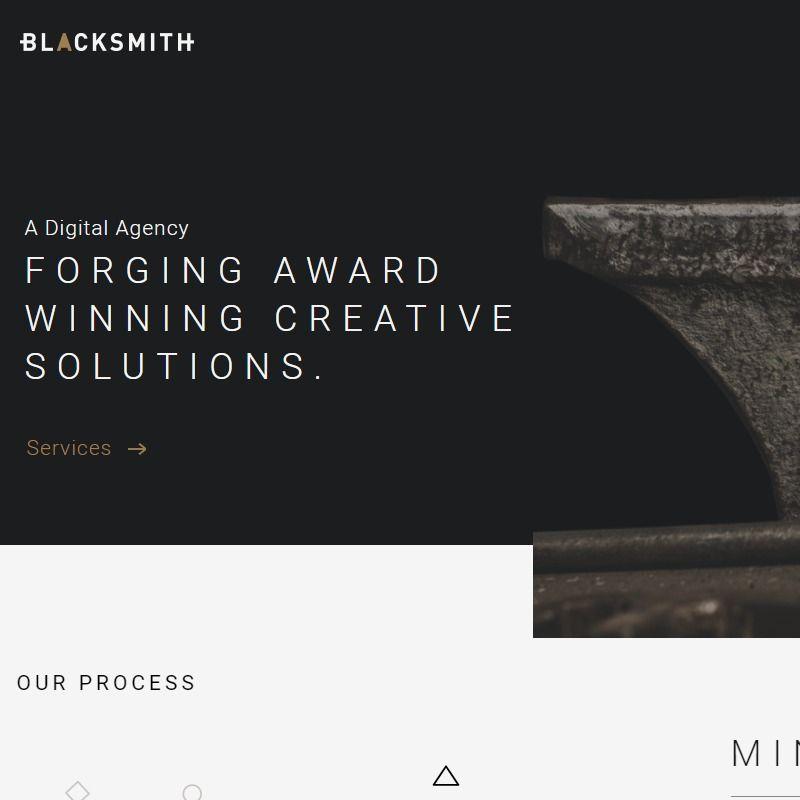 Blacksmith Agency Award Winning Web Design Company Web Design Company Web Design Design Company
