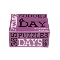 Sudoku A Day 365 - Sudoku Gifts . Good for the mind.