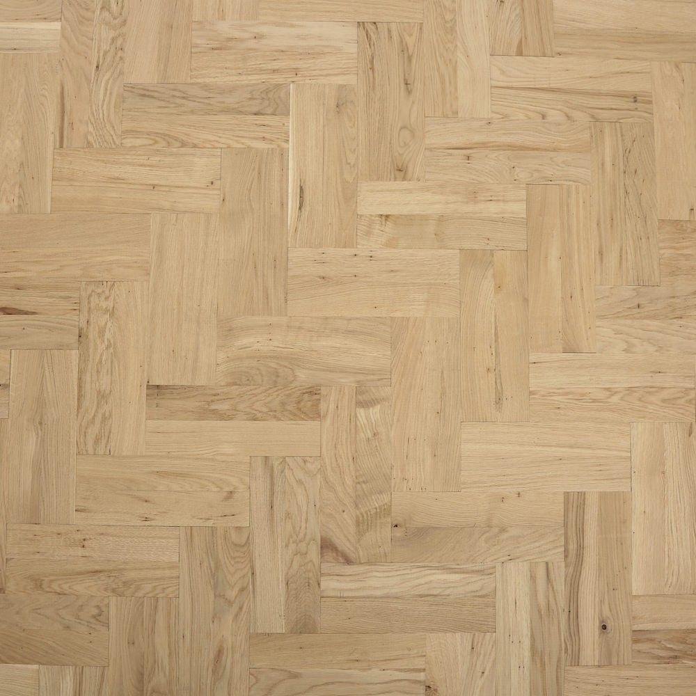 Solid Parquet Block Unfinished Solid Wood Flooring
