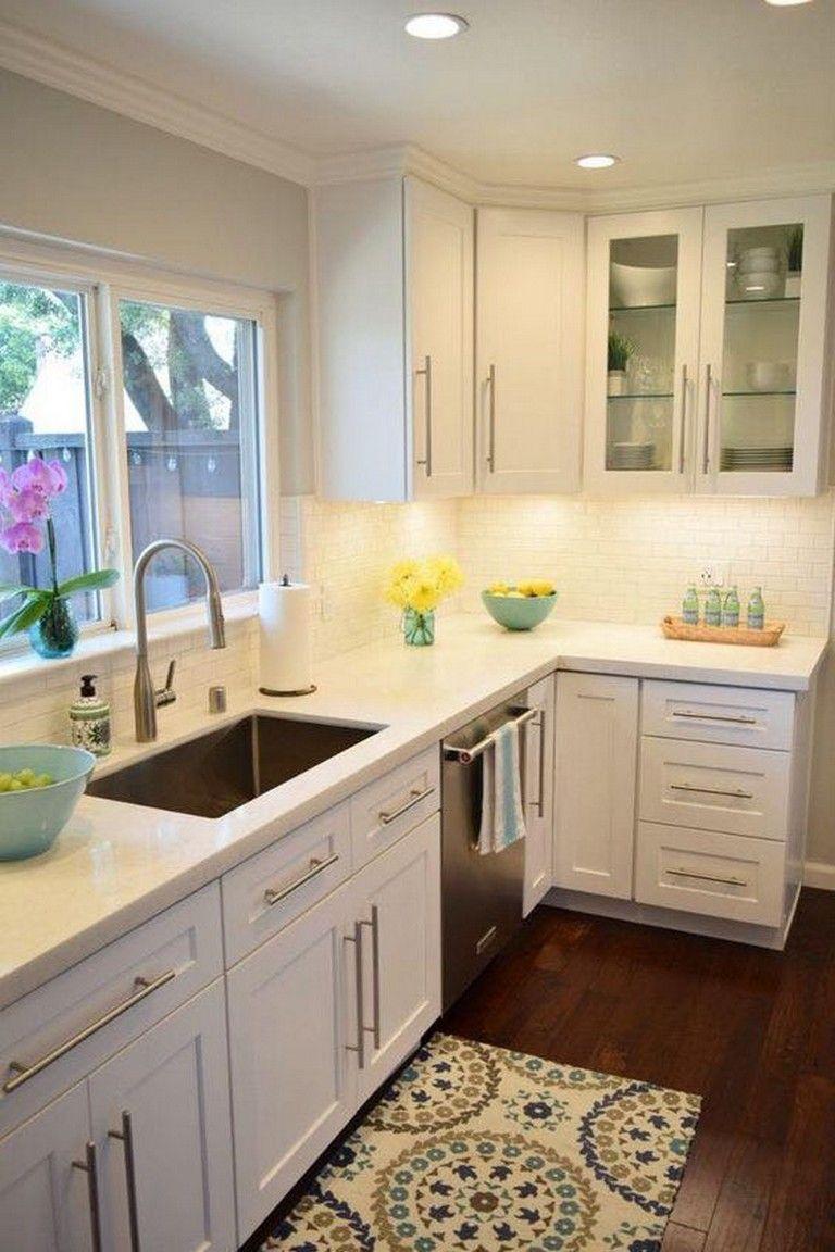 40 SIMPLE KITCHEN CABINETS MAKEOVER IDEAS   Kitchen ...