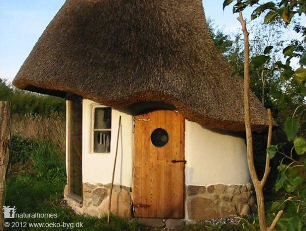 A tiny cob house