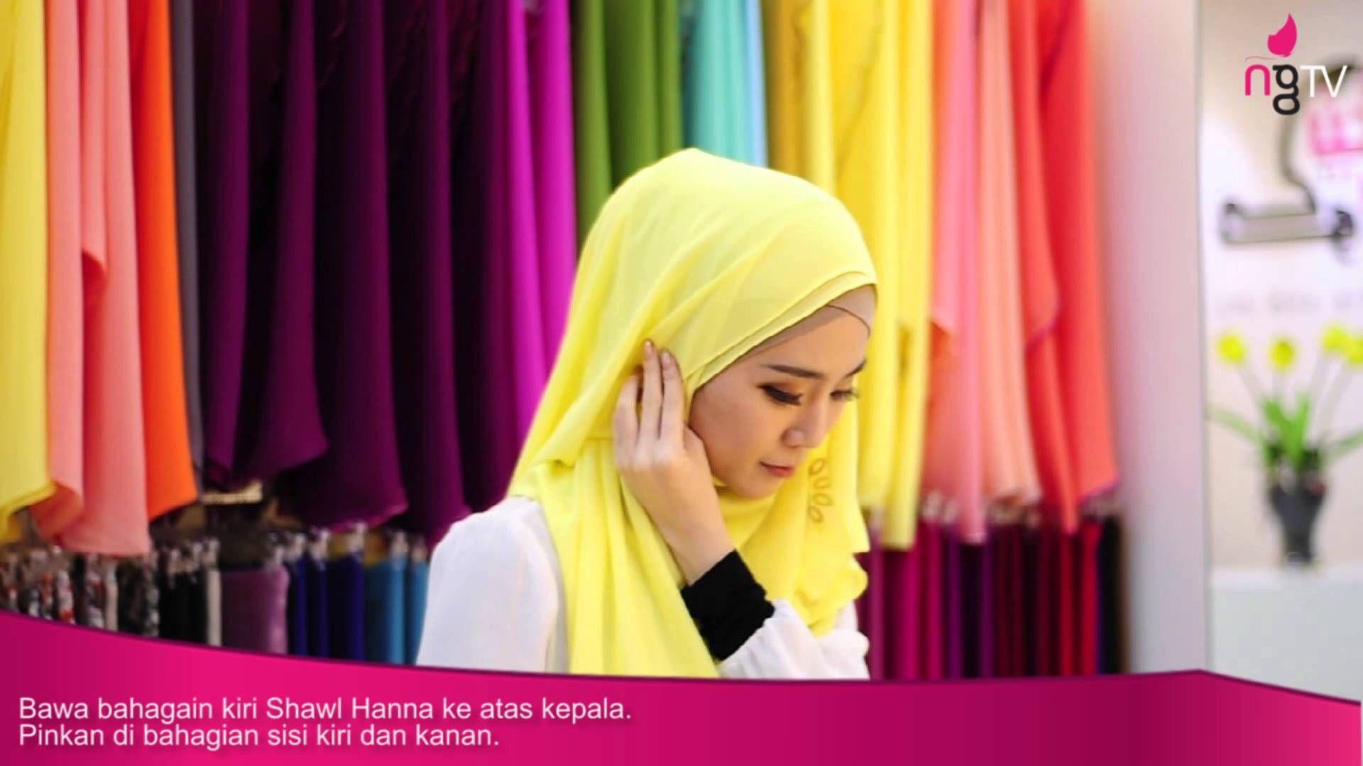 Neng Geulis Hijab Tutorial 6 Hanna Shawl By Felixia Yeap
