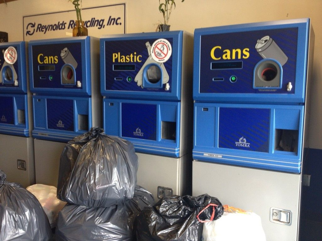 The Tomra Reverse Vending Machines At Reynold S Recycling