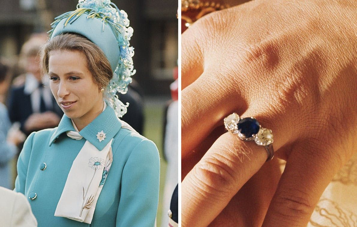The Most Spectacular Royal Engagement Rings, from Princess