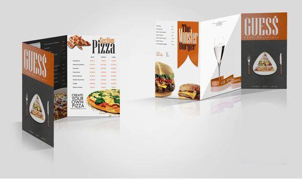 25 Restaurant Brochure Design Examples for Inspiration - Jayce-o - restarunt brochure