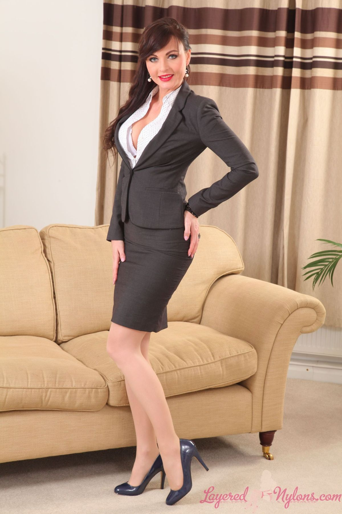 Think, that Business sexy suit womens talk