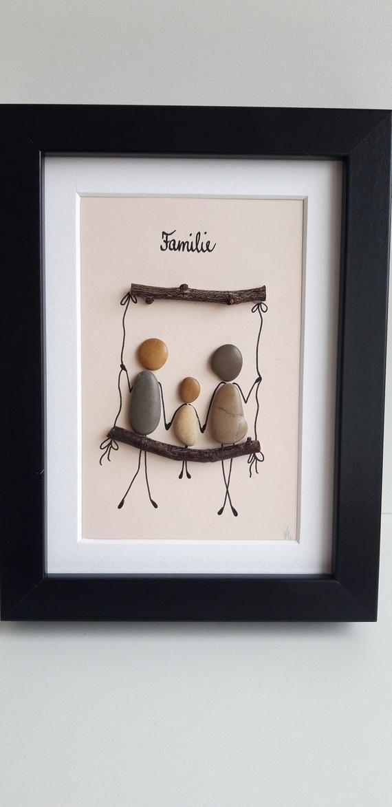 Familie, Steinbild