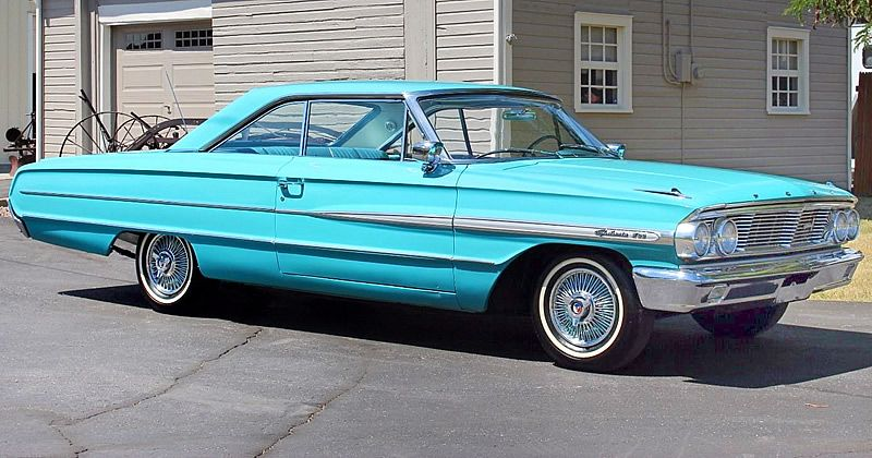 1964 Galaxie 500 Xl 2 Door Hardtop 390 V8 With Tri Power With