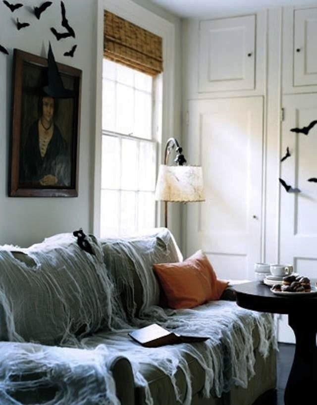 21 stilvolle Wohnzimmer Halloween Dekorationen Ideen | stilvolle ...