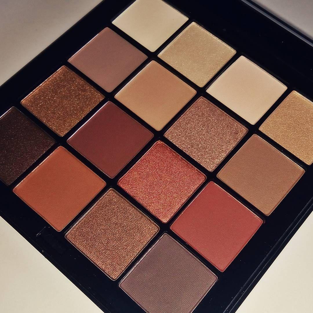 NYX ultimate eyeshadow palette. Warm neutrals. Looks like