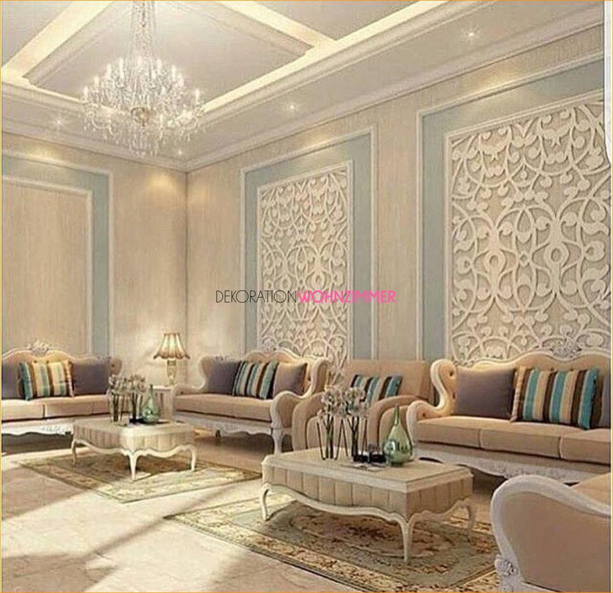 luxus dekoration der wohnzimmer wände 2019 | wohnung