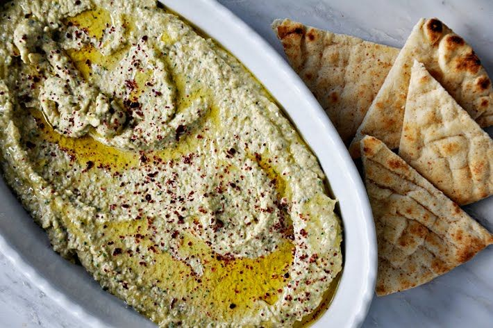 Cranberry Bean Hummus.