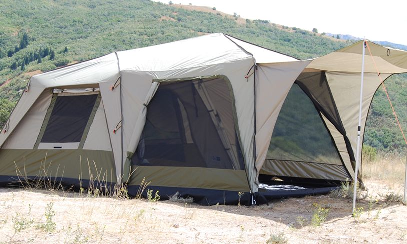 Black Pine Supreme 6 Turbo Tent 10u0027 x 10u0027 w/Deluxe Screen Room : tent with screen room - memphite.com