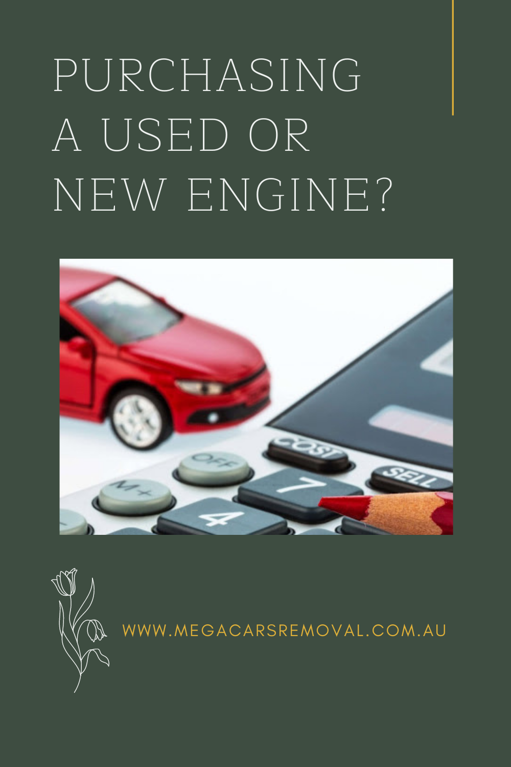 What To Consider When Purchasing A Used Or New Engine Sell Car New Engine Engineering