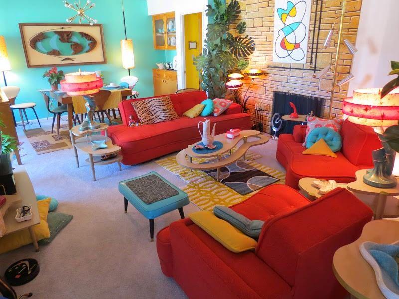 ordinary Kitschy Living Part - 12: Nunca podrías sentirte triste en un cuarto así -- Kitschy Living