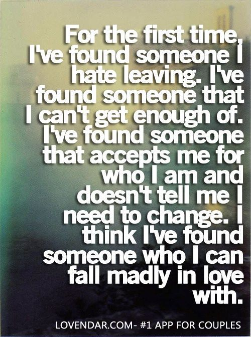 I Felt This Way About Only One Person In My Life I Should Have Done