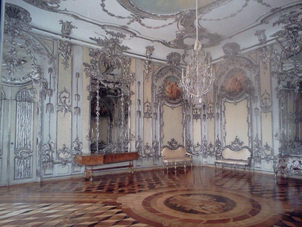Gorgeous Silver Leafed Room The Neues Palais Potsdam History Royal Residence Palace Of Versailles Rococo Style