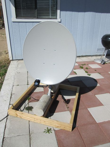 Free to Air (FTA) Satellite Dish Setup | Projects