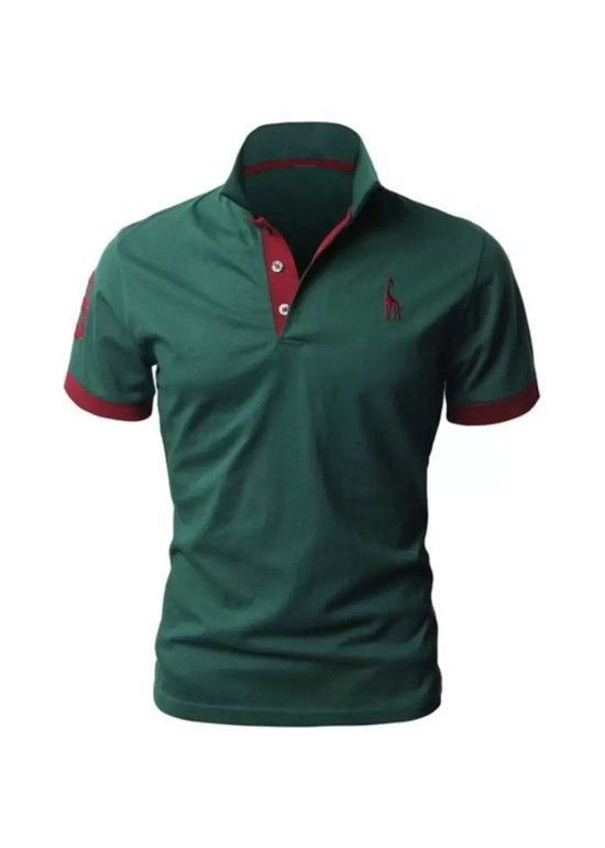 8e966783fd Camisa Polo Giraffe - Verde - Compre Aqui