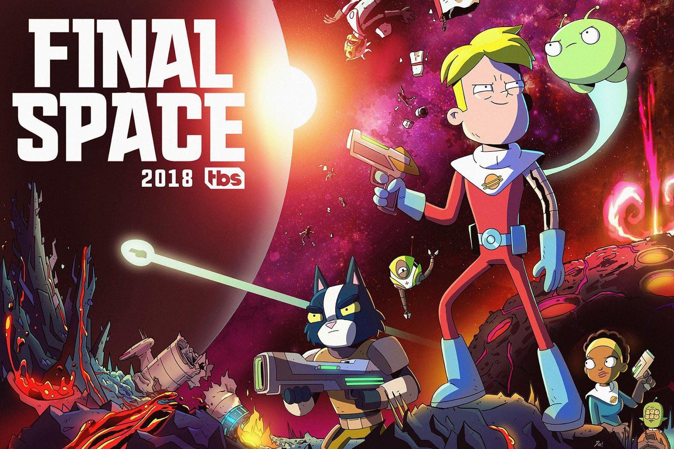 Full hd tbs final space chapter five wallpaper anime - Final space wallpaper ...