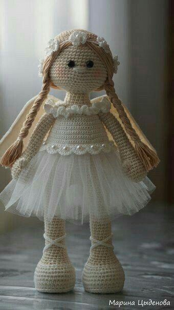 Pin von Susanne auf Amigurumi | Pinterest | Engelchen, Puppen und Häkeln