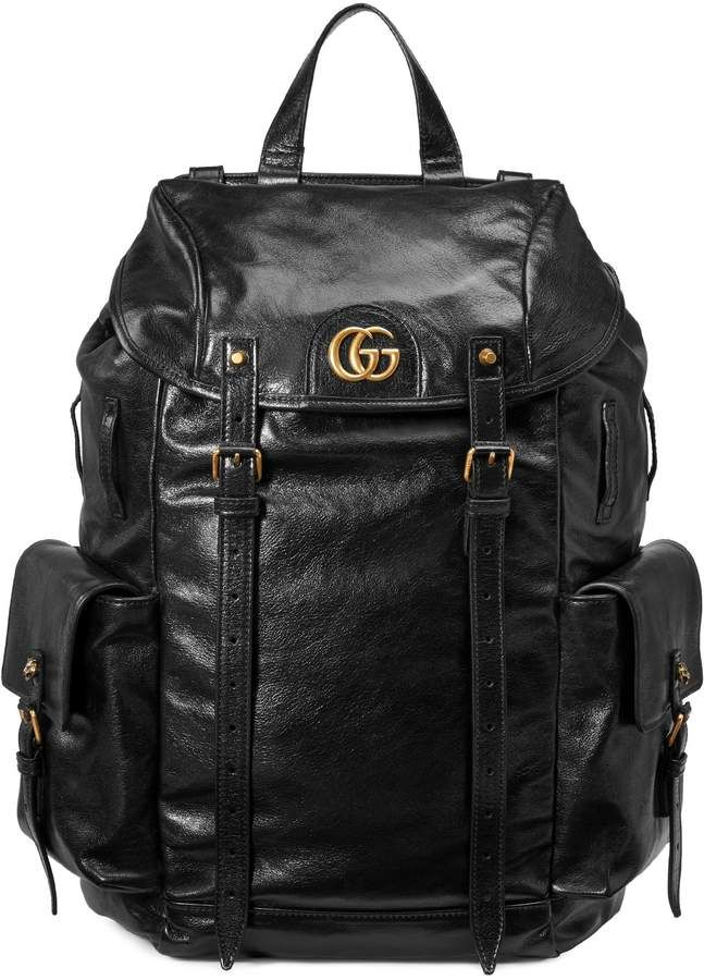 48e800a14d9 Gucci RE(BELLE) leather backpack